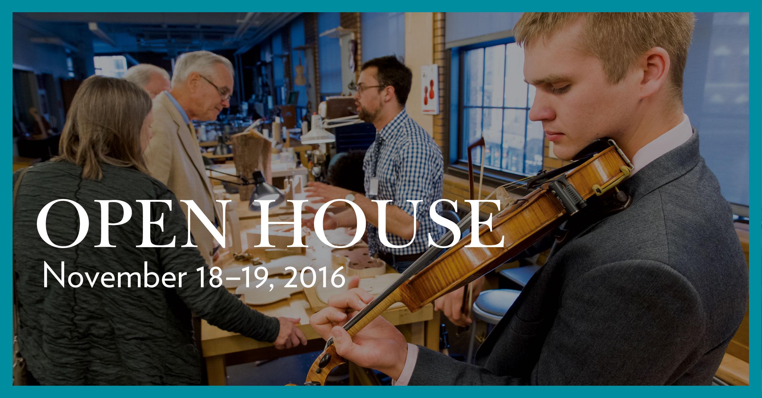 Fall Winter 2016 Open House